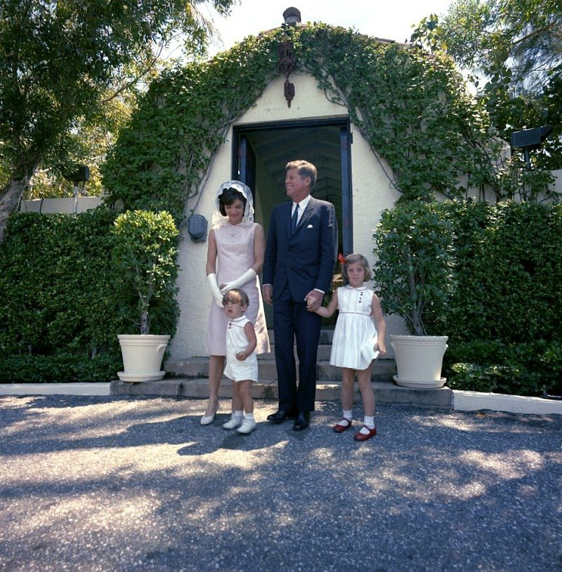 14 First-Family-After-Easter-Services-In-Palm-Beach-Florida-April-14-1963.jpg