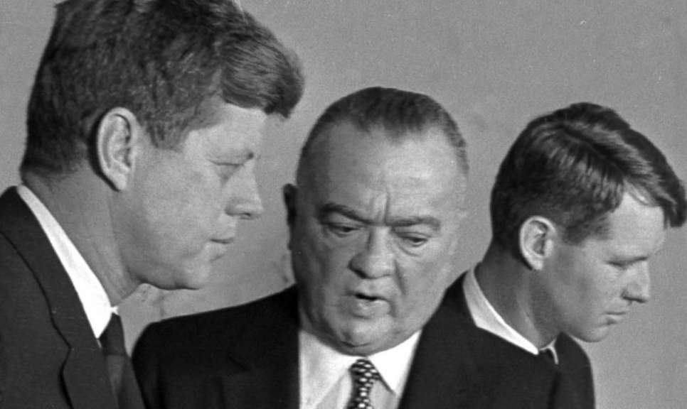 JFK and Hoover do not like each other.