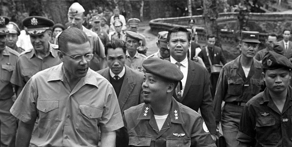 Robert McNamara in South Vietnam