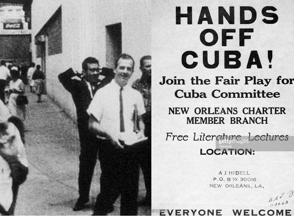 Lee Harvey Oswald pro-Castro demonstration.