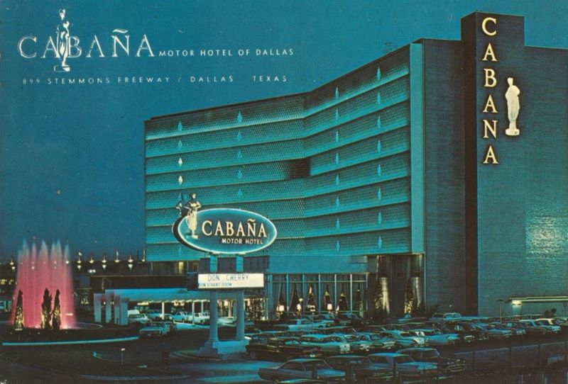 The Cabana Motor Hotel is a mob favorite.