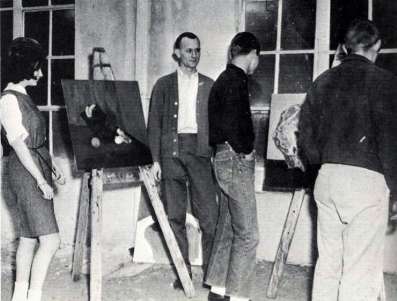 Richard Eaves at Arlington State College