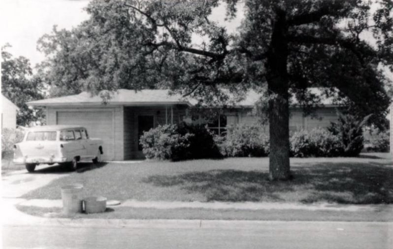 Ruth Paine's house in Irving