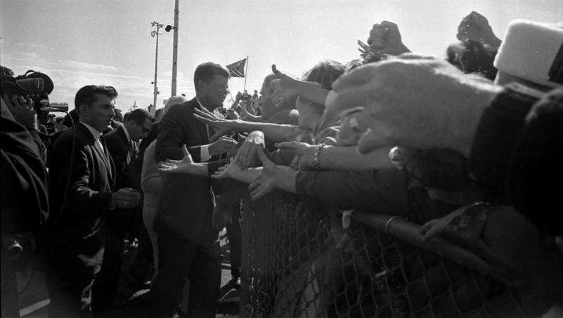 JFK arrives Love Field
