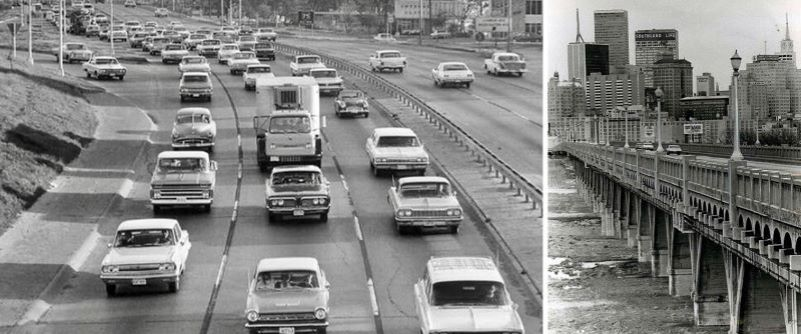 motorcade causes traffic snarl