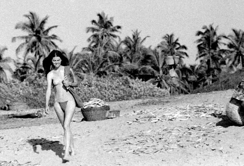 Pilar on beach