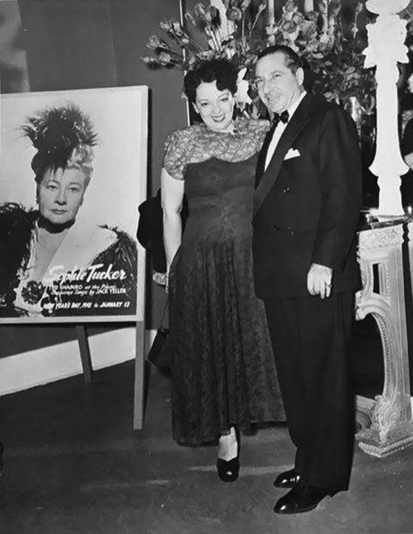 9 Frank Costello and wife at Beverly 1940s