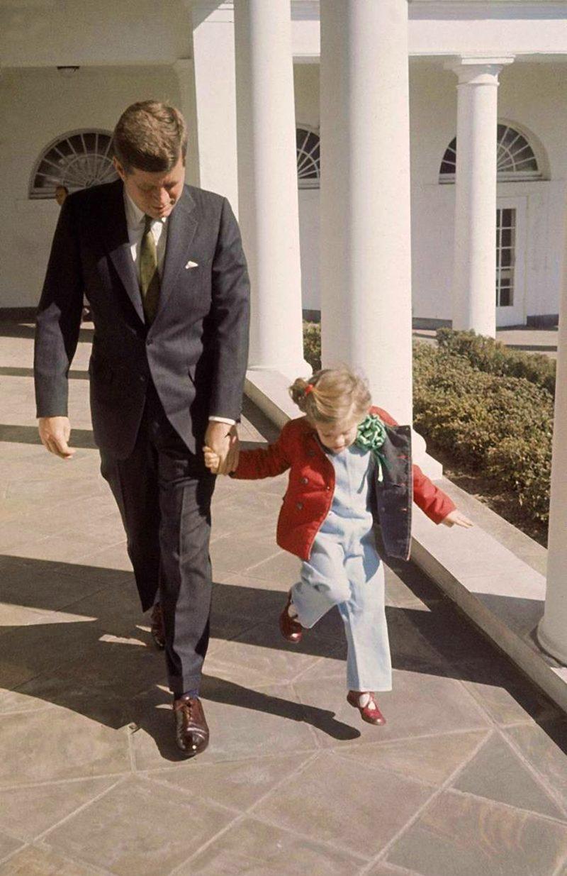 44m JFK-And-Caroline-March-17-1961