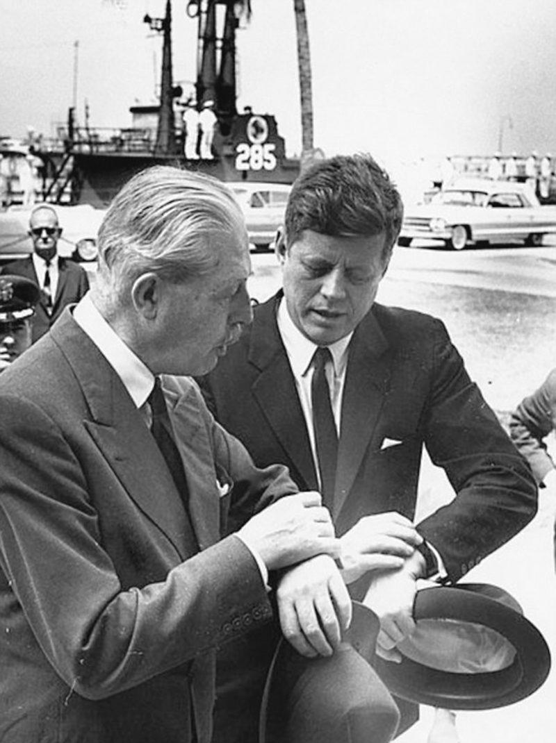44r JFK and Macmillan
