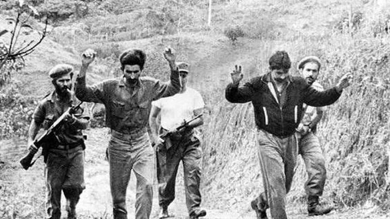 44x Captured Prisoners at the Bay of Pigs