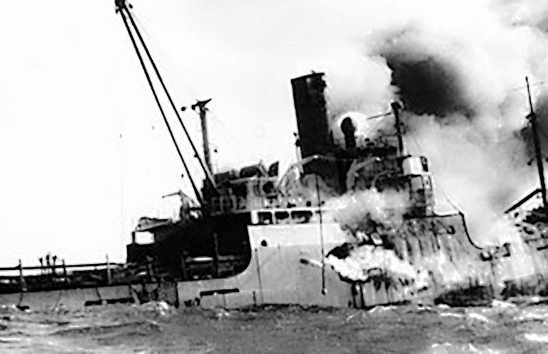 44y Anti castro ships sink