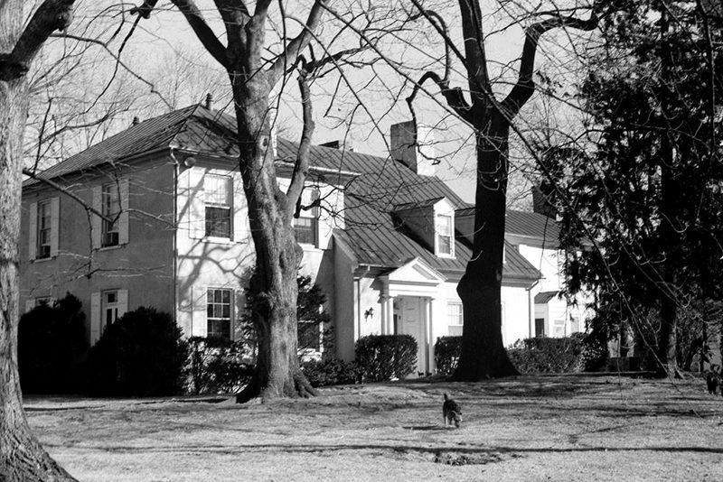 46a JFK and Jackie's Glen Ora farm in Middleburg, Virginia.