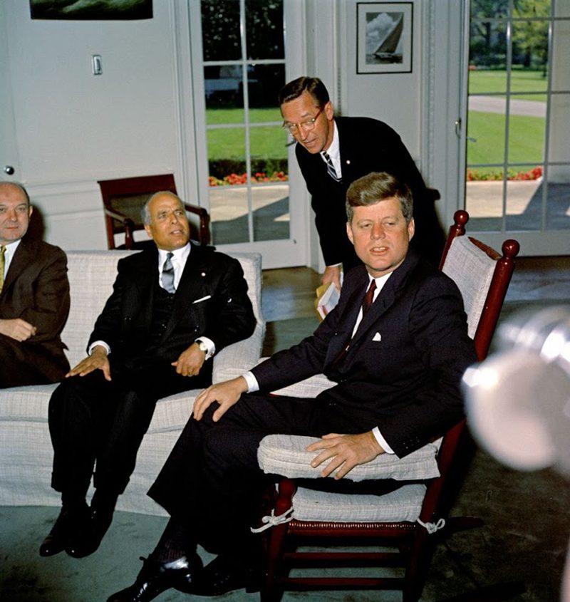48b JFK-With-Tunisia-President-Bourguiba-5-4-61