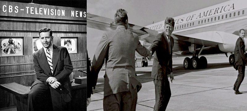 57 Douglas Edwards with JFK