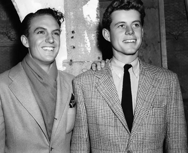 Robert Stack with JFK