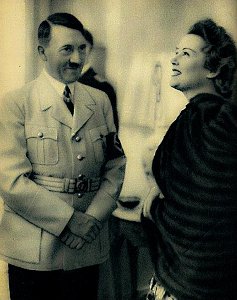 Inga Arvad and Hitler