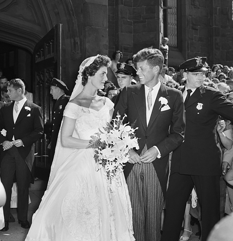 JFK wedding in 1953