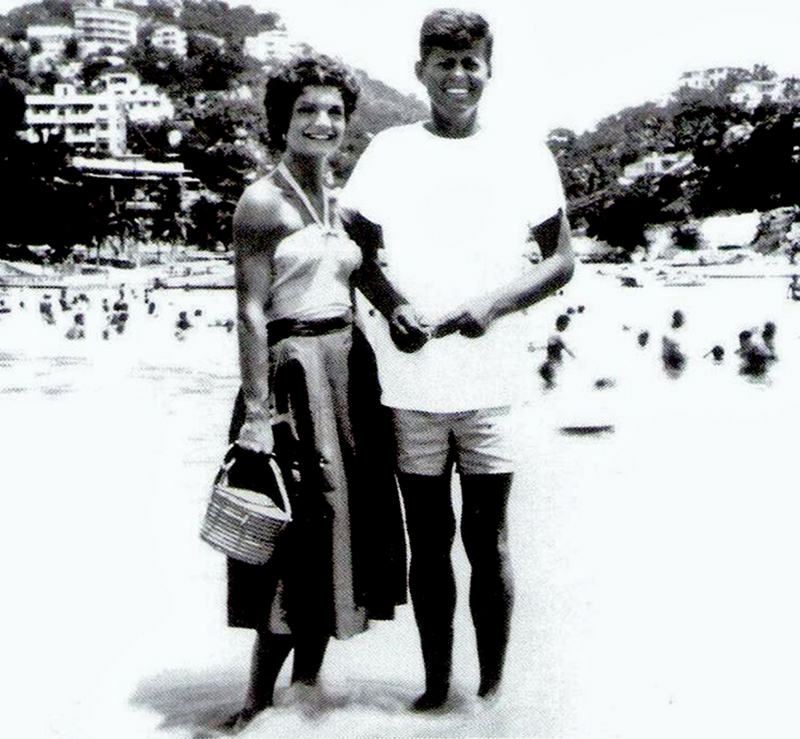 Jack and Jackie in Acapulco