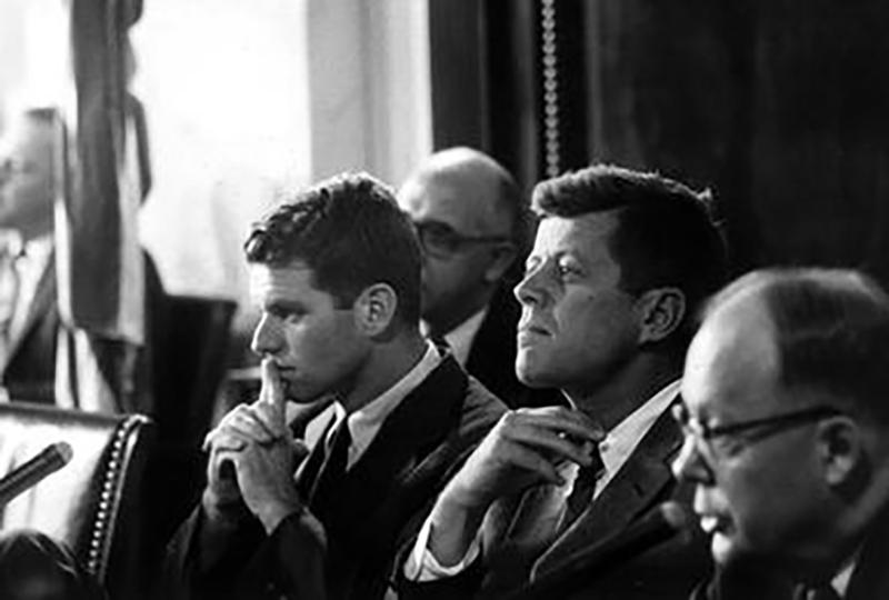 RF Kennedy JF Kennedy K Mundt May1 957