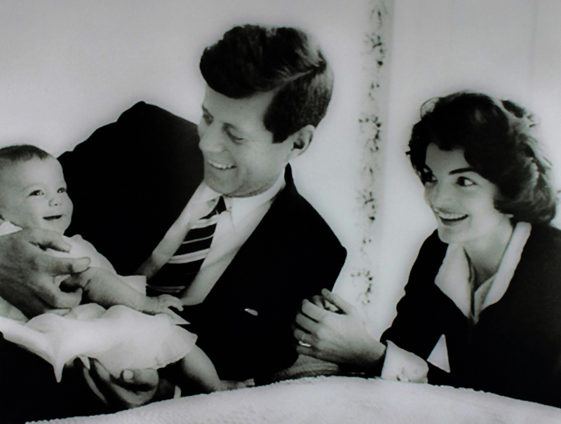 35 The Kennedys with Caroline
