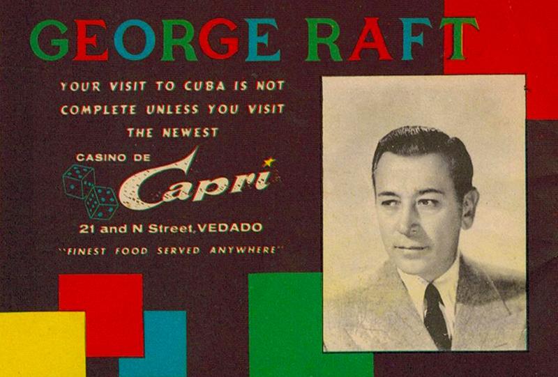 40 George Raft greets JFK at the Capri