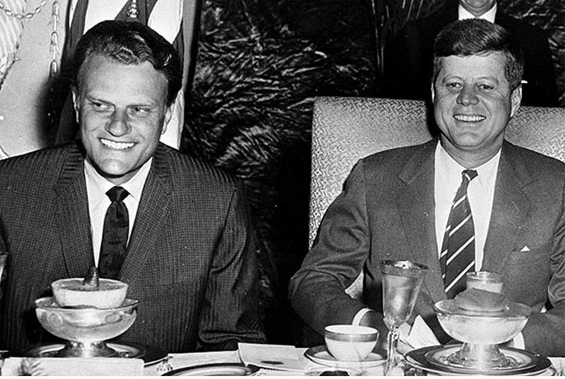 47 Billy Graham JFK