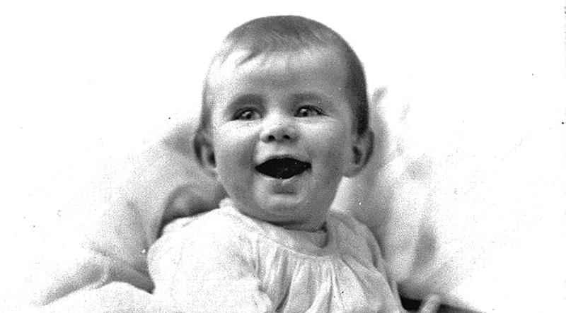 baby portrait of JFK