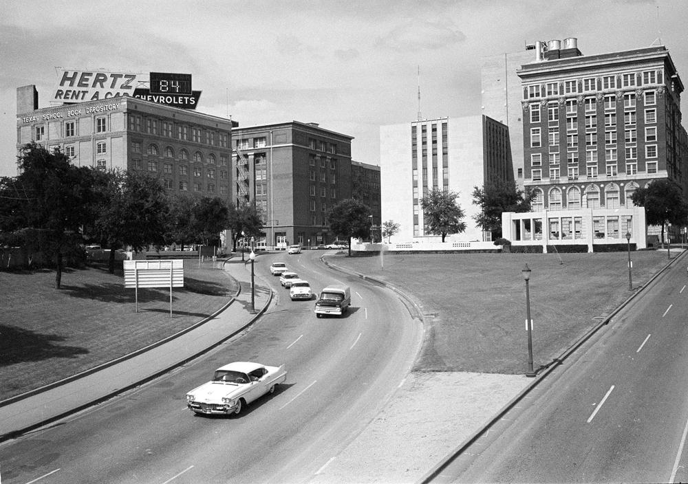 dealey plaza 1963